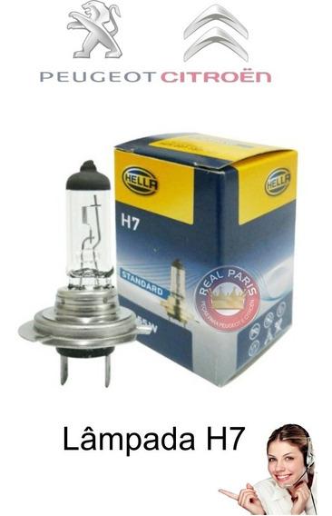 Lampada Farol 207 307 308 C3 C4 12v H7   Peugeot Citroen
