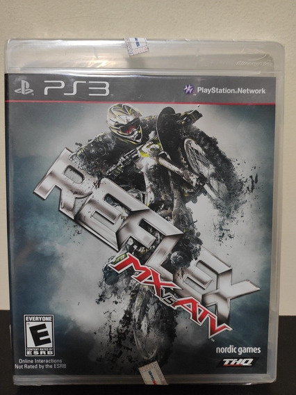 Playstation 3 Jogo Mx X Atv Reflex