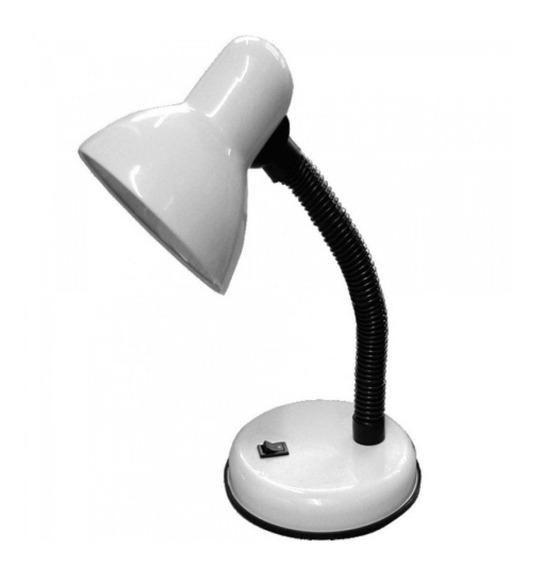 Abajur Luminária Mesa Base Flexível Dobrável Articulável E27