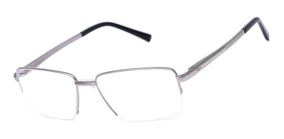 Armação Oculos Ogrife Og 1099-c Masculino Com Lente Sem Grau