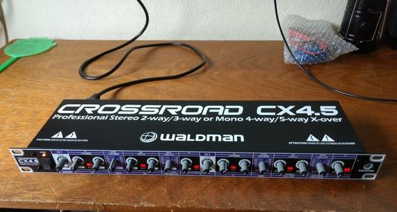Crossover Waldman 2,3 Vias Stereo 4,5 Mono ( Semi Novo )