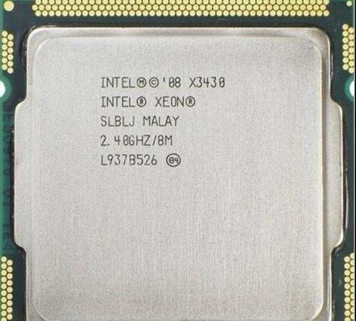 Processador Xeon X3430 = I7 870 Quad Core 1156 Promoção!