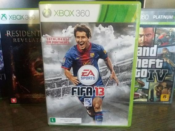 Jogo De Futebol Fifa 13 Original Xbox 360 Em Português