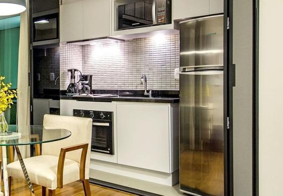 Flat No Brooklin 2 Dormitórios 60m² - Sf8509