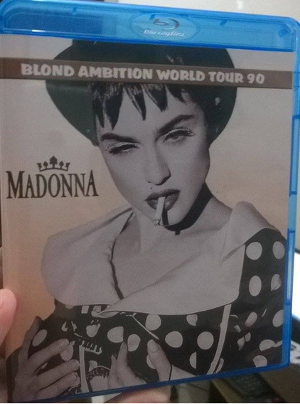 * Bluray Madonna Blond Ambition Tour Nice Com Legendas