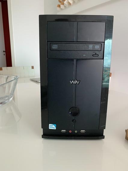 Computador Com Monitor E Caixas De Som Cce