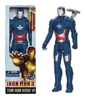 Muñeco Iron Patriot - Iron Man - Original Hasbro