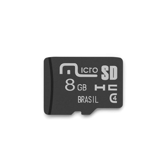 Cartão De Memória Microsd 8gb Classe 4 - Multilaser