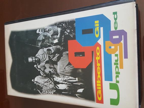 Vhs Gilberto Gil Unplugged, Não É Filme De Locadora.
