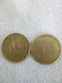 2 Monedas Antiguas De Dolar Americano