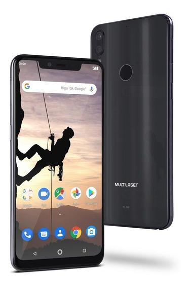 Smartphone Ms80x 4g Tela 6,2 64gb Preto Multilaser