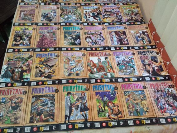 Mangá Fairy Tail 1 Ao 43 Completo Jbc