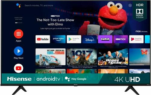 Imagen 1 de 8 de Hisense 50  Smart Tv Serie 4k Uhd Dolby Vision Hdr Android