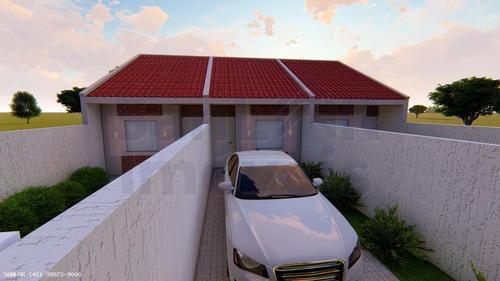 Casa Para Venda Em Ponta Grossa, Contorno, 2 Dormitórios, 1 Banheiro - _1-1814287