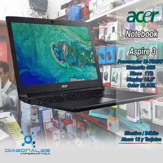 Notebook Acer Aspire 3 I3 7020u 4gb 1tb La Plata