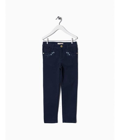 Calça Jeans Sarja Infantil Menina Zippy - Kid Girl - 6338478