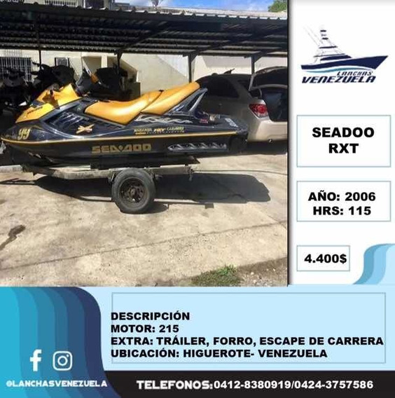 Moto De Agua Seadoo Rxt Lv81