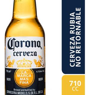 Corona Cerveza 710cc Pack X 3