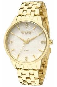 Relógio Feminino Technos Elegance Dourado 2036lov/4b