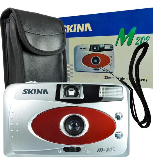 Máquina Fotográfica De Filmes Câmera Analógica 35mm Skina M2