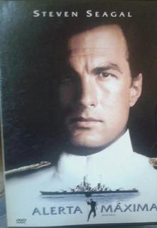 Alerta Maxima - Steven Seagal - Caja De Carton- Dvd Original