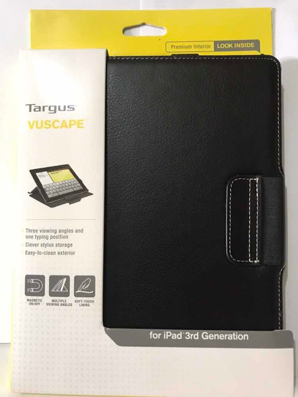 Capa Case Para iPad 2 3 E 4 Targus - Preto