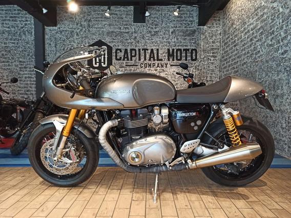Capital Moto México Triumph Thruxton 1200r 2016