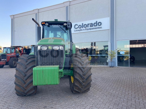 Trator Jd 7230j -4x4- Ano 2017 - 3846 Horas