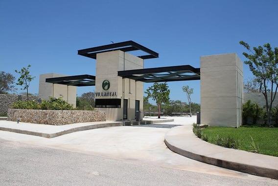 Venta De Terreno En Merida, Privada Residencial Villareal, Temozon