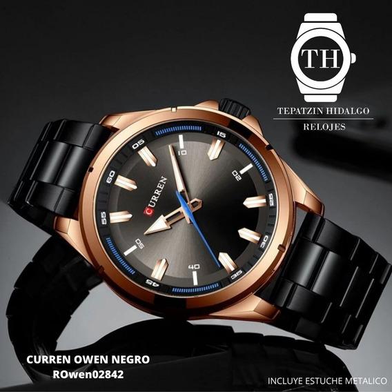 Reloj Curren Owen Negro