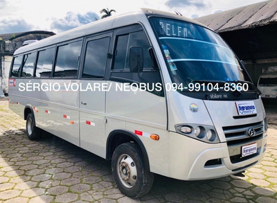 Micro Ônibus Volare V8l Executivo Cor Prata Ano 2018/2018