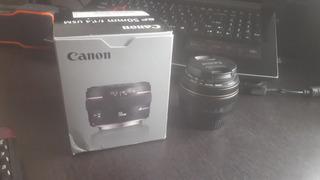 Lente Ef Canon 50mm F/1.4 Usm