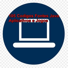 Códigos Fontes Java- Kit Com Mais De 105 Aplicativos E Jogos