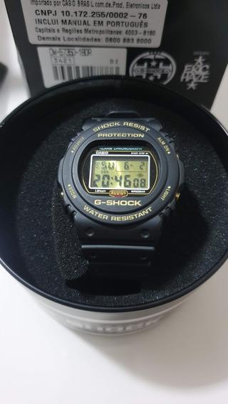 G Shock 35 Anos Dw-5735d-1b (fundo De Rosca)