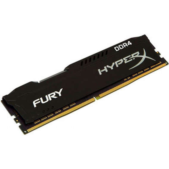 Memória Gamer Kingston Hyperx 16gb Ddr4 2666mhz Fury Desktop