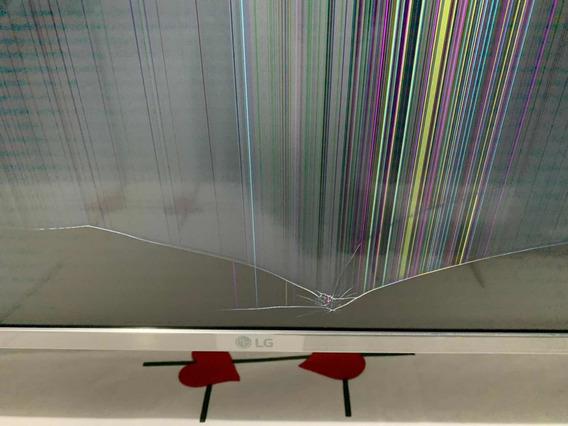 Tv LG 43 4k 43um7510psb Para Pecas (tela Quebrada)
