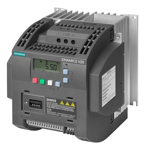 Variador De Frecuencia Siemens Sinamics V20 4hp 220v Escalar