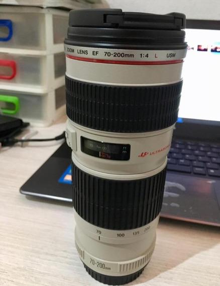 Lente 70-200 Canon F:4