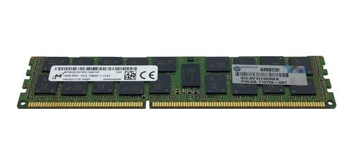Memória 16gb Pc3l-12800r Hp Proliant Ml350 Ml350p Ml350e G8