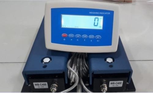 Imagen 1 de 1 de Balanza Ganado 2000 Kg Completa Barras De 40 Cm Electronica
