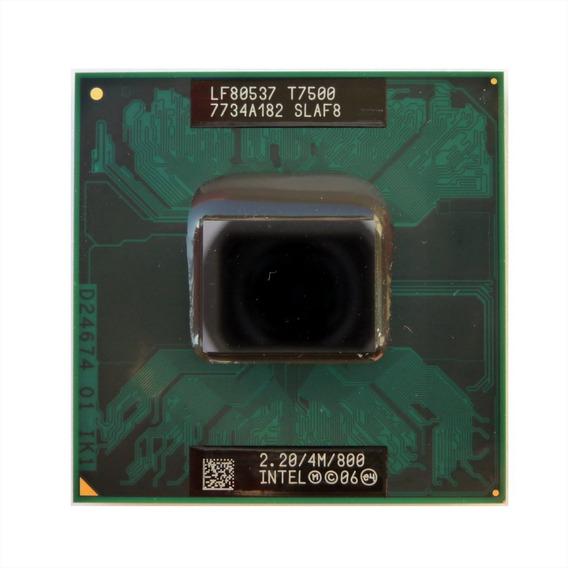 Processador Core2duo T7500 2.2ghz 4mb 800 Chipset 965