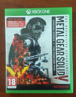 Metal Gear Solid V Ground Zeroes +the Phantom Pain Xbox One