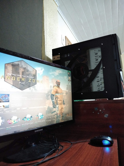 Pc Gamer Completo Mouse Monitor Fx8300 Rx460(gtx1060) 12gb