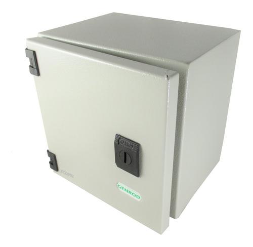 Gabinete Metálico Estanco Genrod S9000 - 200x200x150mm