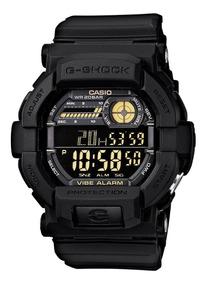 Relógio Casio G-shock Gd 350 1b Pisca Alerta Vibra Wr200