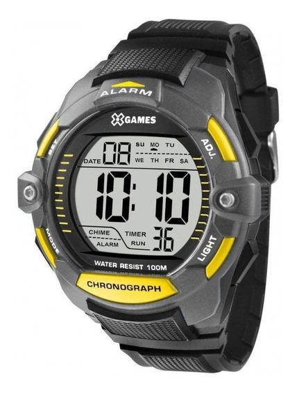 Relógio Masculino X-games Xmppd432 Bxpx - Cinza/preto
