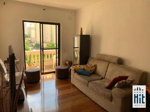 Apartamento À Venda, 98 M² Por R$ 830.000,00 - Vila Da Saúde - São Paulo/sp - Ap3833