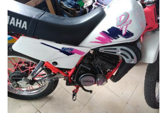Yamaha Dt 125 Blanco