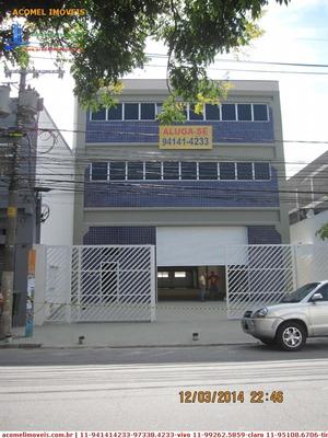 Galpões Para Alugar Em São Paulo/sp - Alugue O Seu Galpões Aqui! - 1189436
