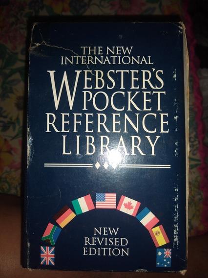 Livros Coleção Websters Picket Referencie Library